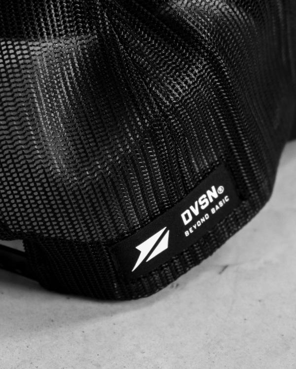 DVSN Cap Black - Icon - Close Up
