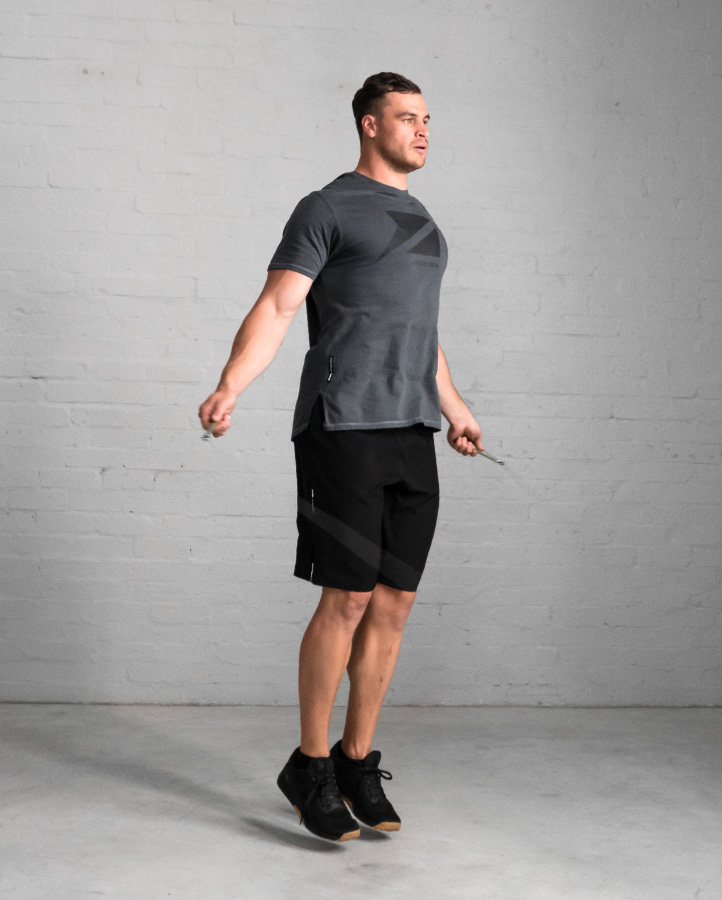 DVSN Men's Icon Tee Slate - Skipping Rope